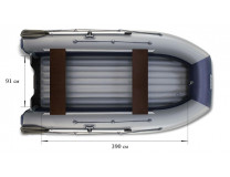 Лодка ПВХ Флагман DK 450 Jet